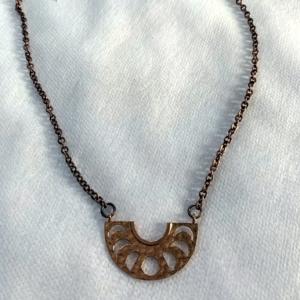 Bronze Moon Necklace - GRLash.com