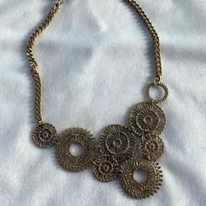 Gold Circles Necklace - GRLash.com