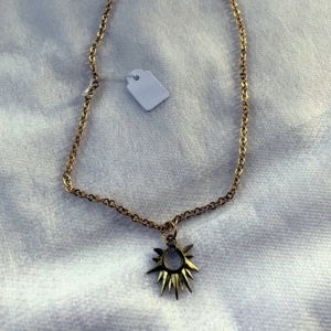 Gold Sunburst Necklace