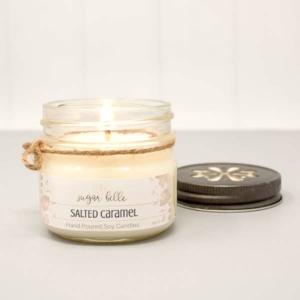 Salted Caramel Sugar Belle Candle - GRLash.com