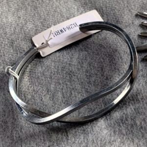 Silver Twist Bracelet - GRLash.com